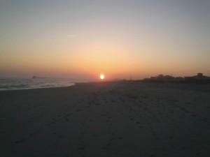 Ab sunset